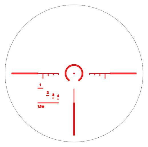 LSH1-400 reticle