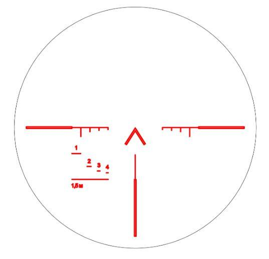 LS400 reticle